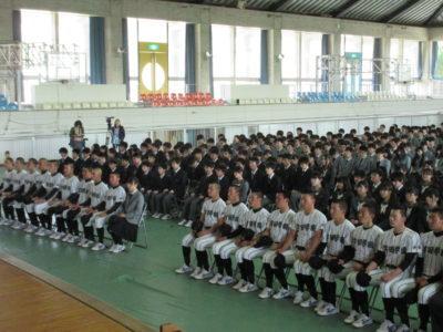 センバツ壮行会2(31.3)