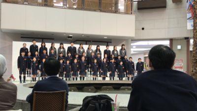 合唱部クリスマス発表会1(1.12)