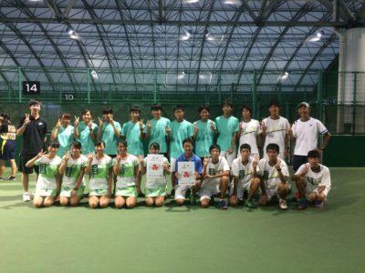 テニス部選抜大会出場決定(2.1)