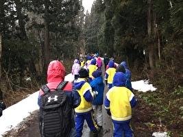 雪の学校2日目(2.2)