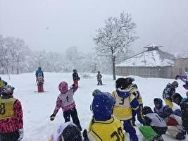 雪の学校3日目(2.2)2